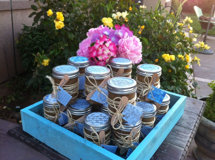 WHOLESALE SHOWER FAVORS : Raw Organic Sugar Scrubs Set Of 30. Baby Shower  Favor Wedding