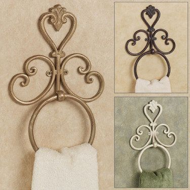 Aldabella Wall Mounted Towel Ring - 14.99 - Touch of class