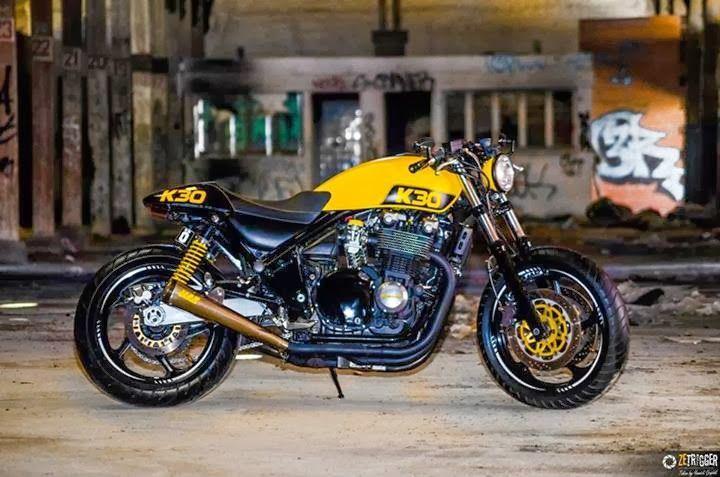 Z750 Cafe Racer Kit Idea Di Immagine Del Motociclo