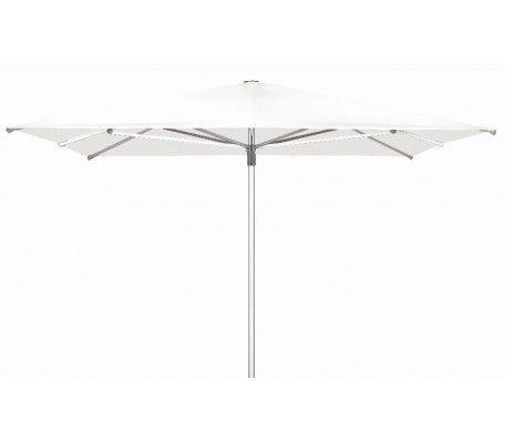 Horeca parasol TELESTAR 400x400 cm wit