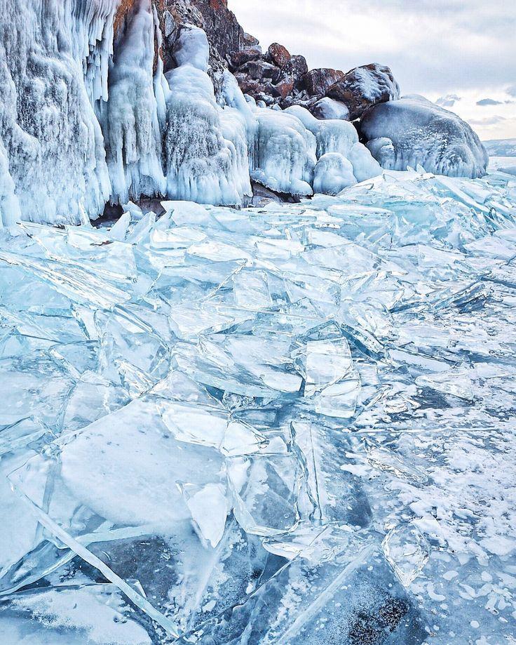 Зима лед картинки