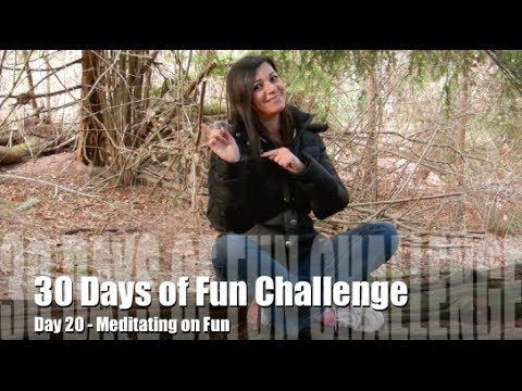 30 Days of Fun Challenge - Day 20 Meditating on Fun in Stanley Park