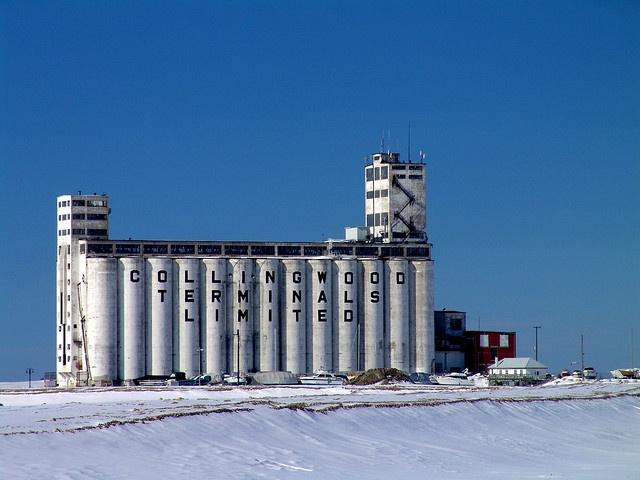 Collingwood Terminals, Ontario.