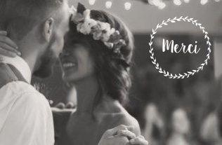 Mon petit faire part - Mariage - Cartes de remerciement - 12