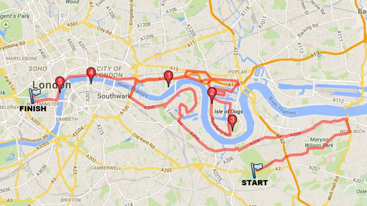 Where to watch the 2015 London Marathon – London Marathon 2015 route – Time Out London