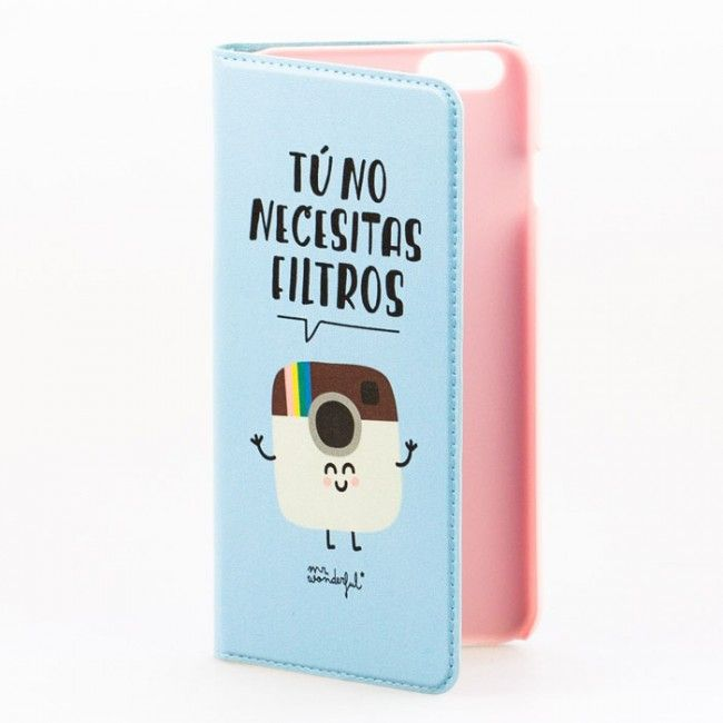 935c5dc1 Mr Wonderful funda Iphone 6 plus Tú no necesitas filtros | Fundas de ...