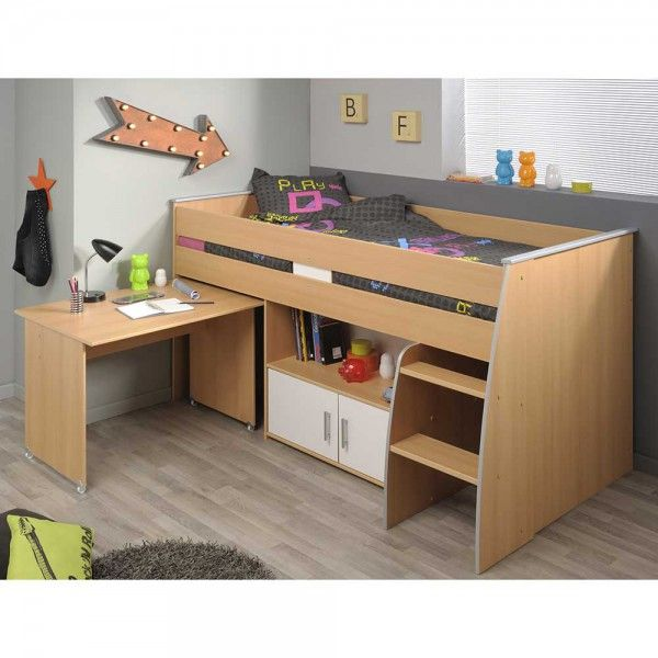 1000 ideas about kinderhochbett mit schreibtisch on. Black Bedroom Furniture Sets. Home Design Ideas