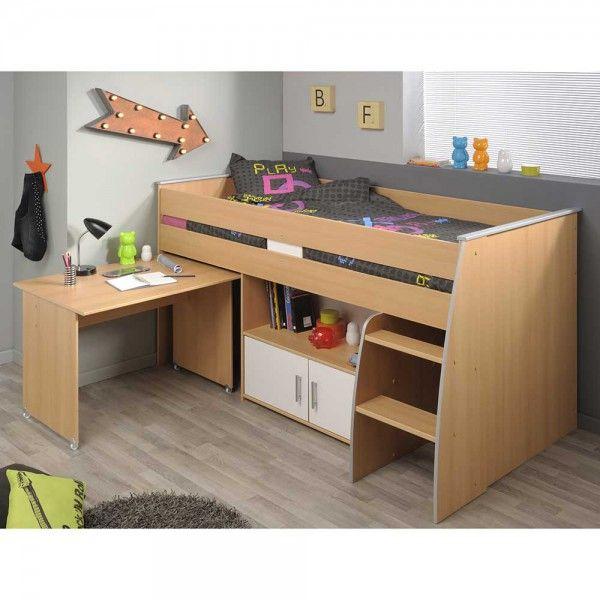 1000 ideas about kinderhochbett mit schreibtisch on. Black Bedroom Furniture Sets. Home Design Ideas
