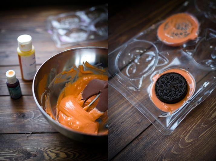 tutorial calabazas chocolate