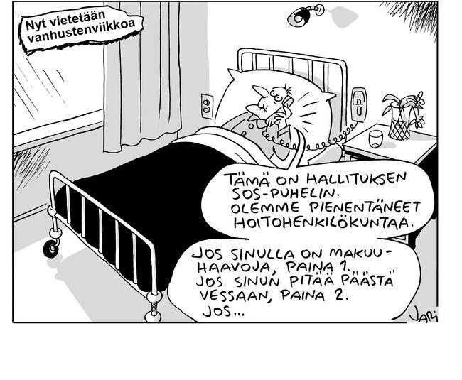 Jari 5.10.2016 | Sarjakuvat | Kaleva.fi