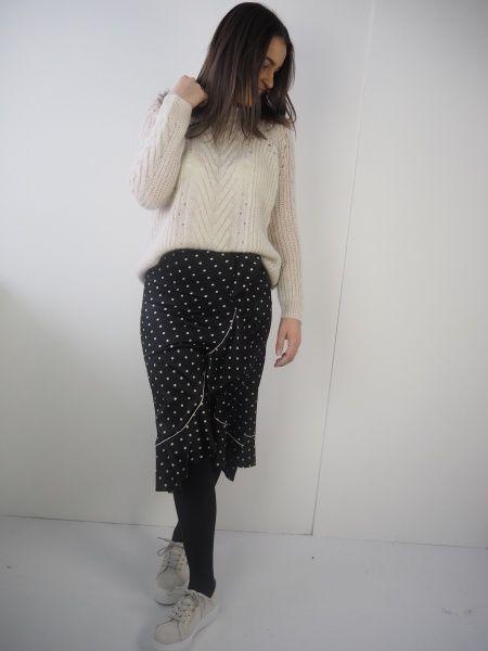 49fa2839703e Ganni Dufort Silk Skirt Black | Ganni in 2019 | Silk skirt, Skirts ...