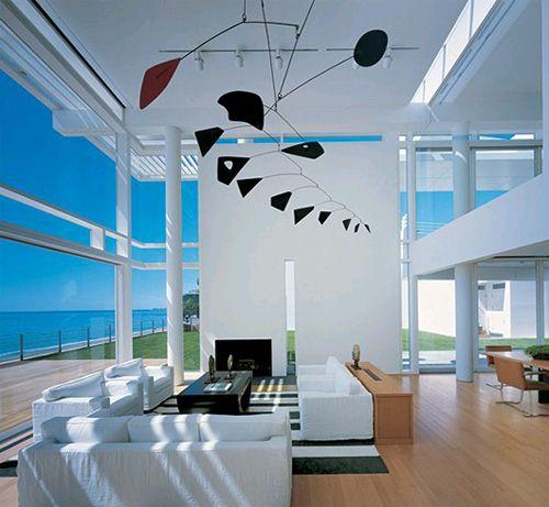 Fire Island House, Designed by Richard Meier