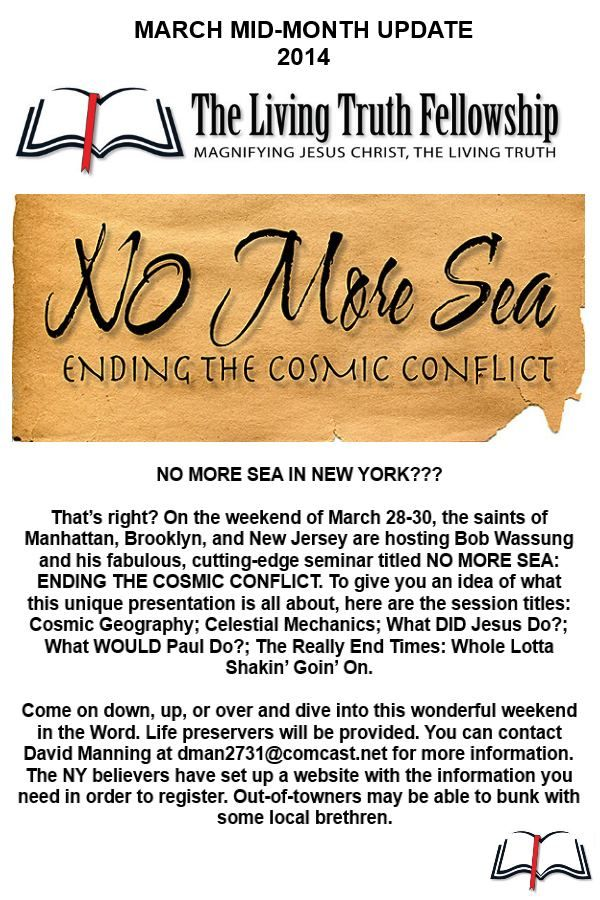 NO MORE SEA IN NEW YORK???  http://www.eventbrite.com/e/a-weekend-in-the-word-no-more-sea-ending-the-cosmic-conflict-tickets-10568916915?aff=eivtefrn&mc_eid=c3a8707d51&mc_cid=e72952a5ec