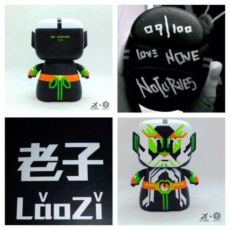 Laozi  NoCurves + BLK studio  Limited edition