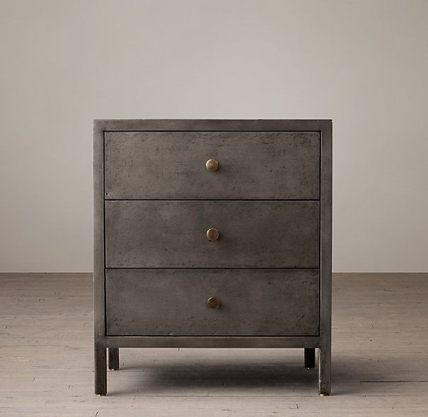 Owner S Suite Bedside Table Option 24 Knox Closed Nightstand