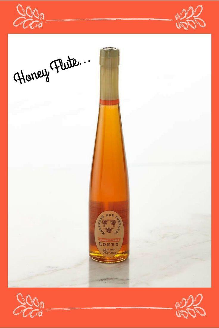 Orange Blossom 🍊 Honey Flute #affiliate #savannahbeeco #flavored honey #citrus #honeyflute #foodgift