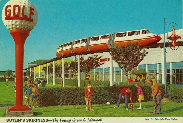 postcards by John Hinde