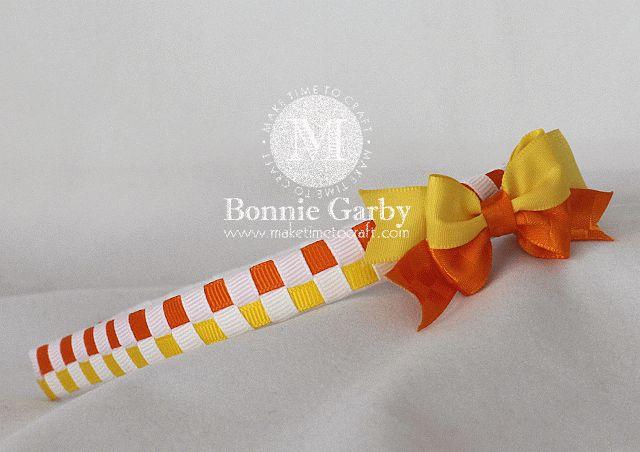 Really Reasonable Ribbon Blog: Basic Checkerboard Woven Ribbon Headband Video Tutorial