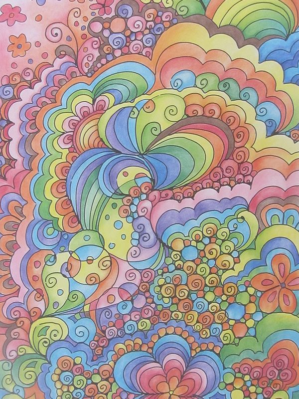 Almost psychedelic. A throwback to the 60s