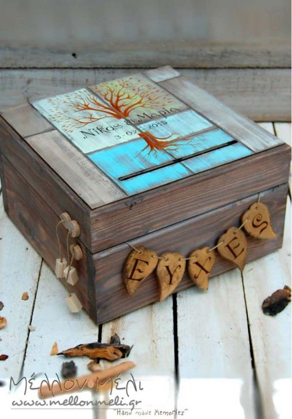 """Κουτί Ευχών """"Δέντρο"""""""