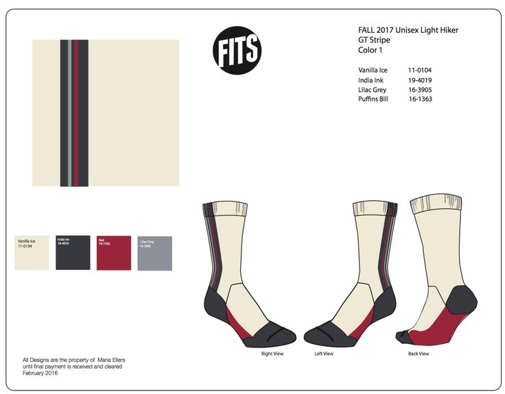 Fits Knit Sock Design by Maria Ellers at Coroflot….