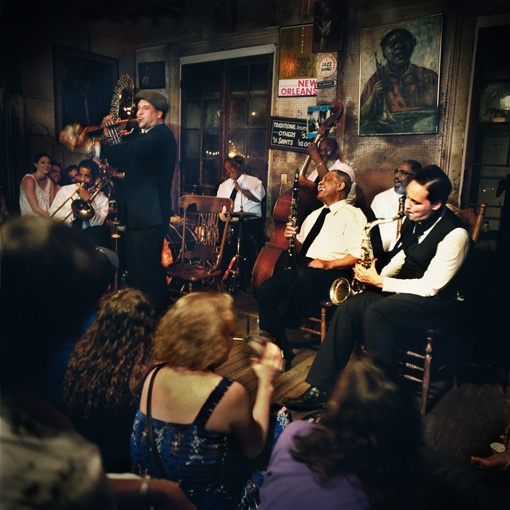 The Preservation Hall Jazz Band @ Preservation Hall, 2009 by Preservation Hall, via Flickr