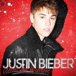 Justin Bieber - Under The Mistletoe LIMITED EDITION CD / DVD Includes 2 Justin Beiber Friendship Bracelets