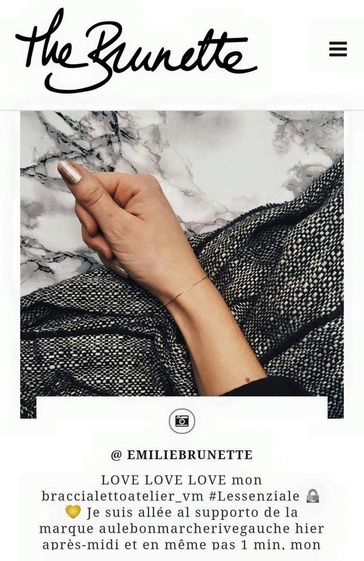 L'Essenziale Blog The Brunette