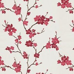 Hangzhou / Scarlet - asian - upholstery fabric - other metro - by Calico Corners | Calico Home