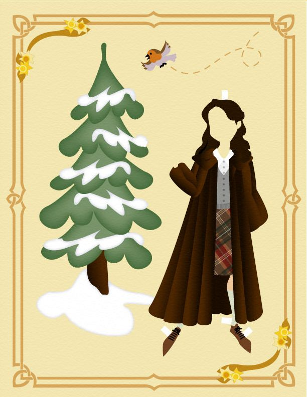 Narnia: Susan Paper Doll 2 by opera13.deviantart.com