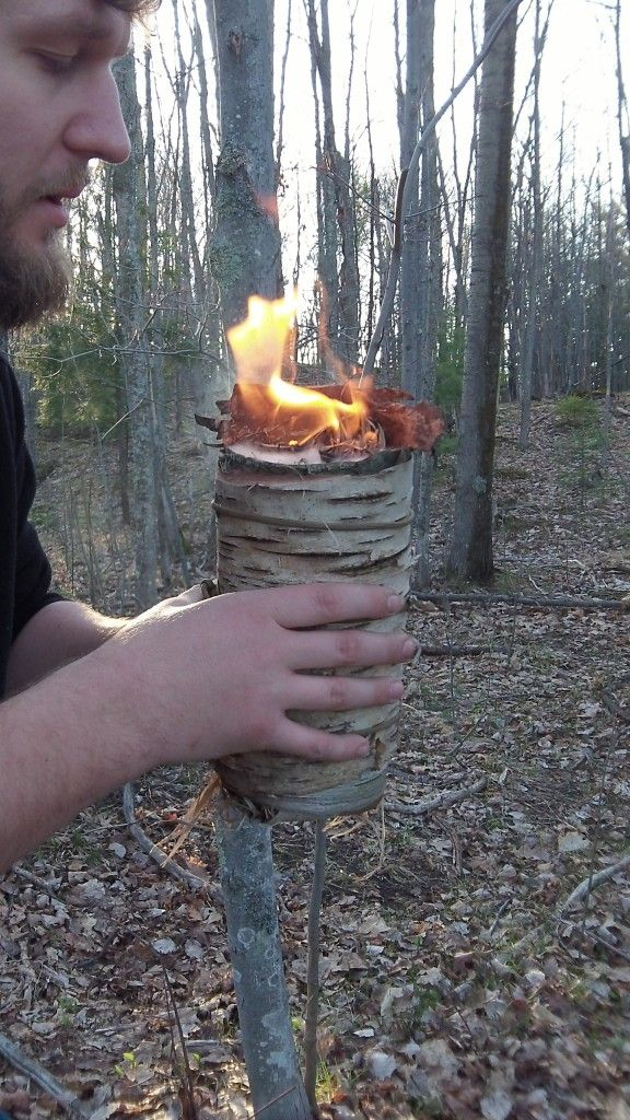 The Long Match is a method of carrying that fire with you as you leave camp and head out to the next destination. This becomes of great use when the only method of fire starting available is through primitive methods.
