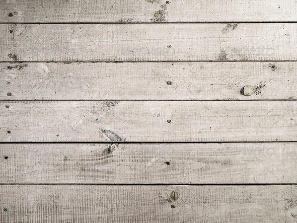 Rough white wooden floor