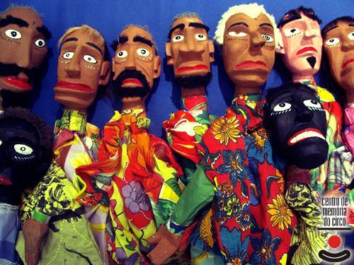 Bonecos mamulengos / prefeitura.sp.gov.br