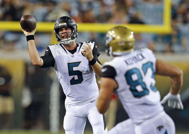 Blake Bortles will start 2017 season at quarterback for Jaguars