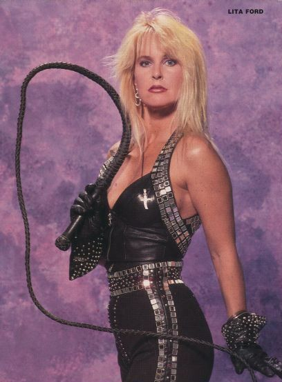 "Lita Ford | Rock'n""Roll Girls 