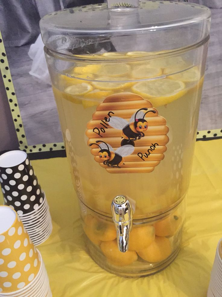 lemonade for bee theme party pollen punch