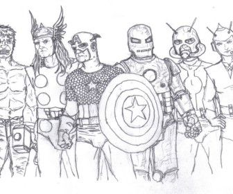 25 best COLORING PAGES images on Pinterest   The avengers ...