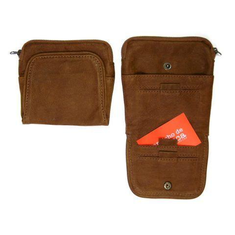accesorio billetera de piel tony brown