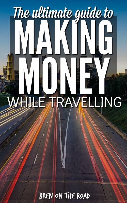Awesome. Eight proven ways to make money on the road, including all the resources you need to get started. Guidelines on hours and pay, plus advice from people who have actually done it! Book mark this one!