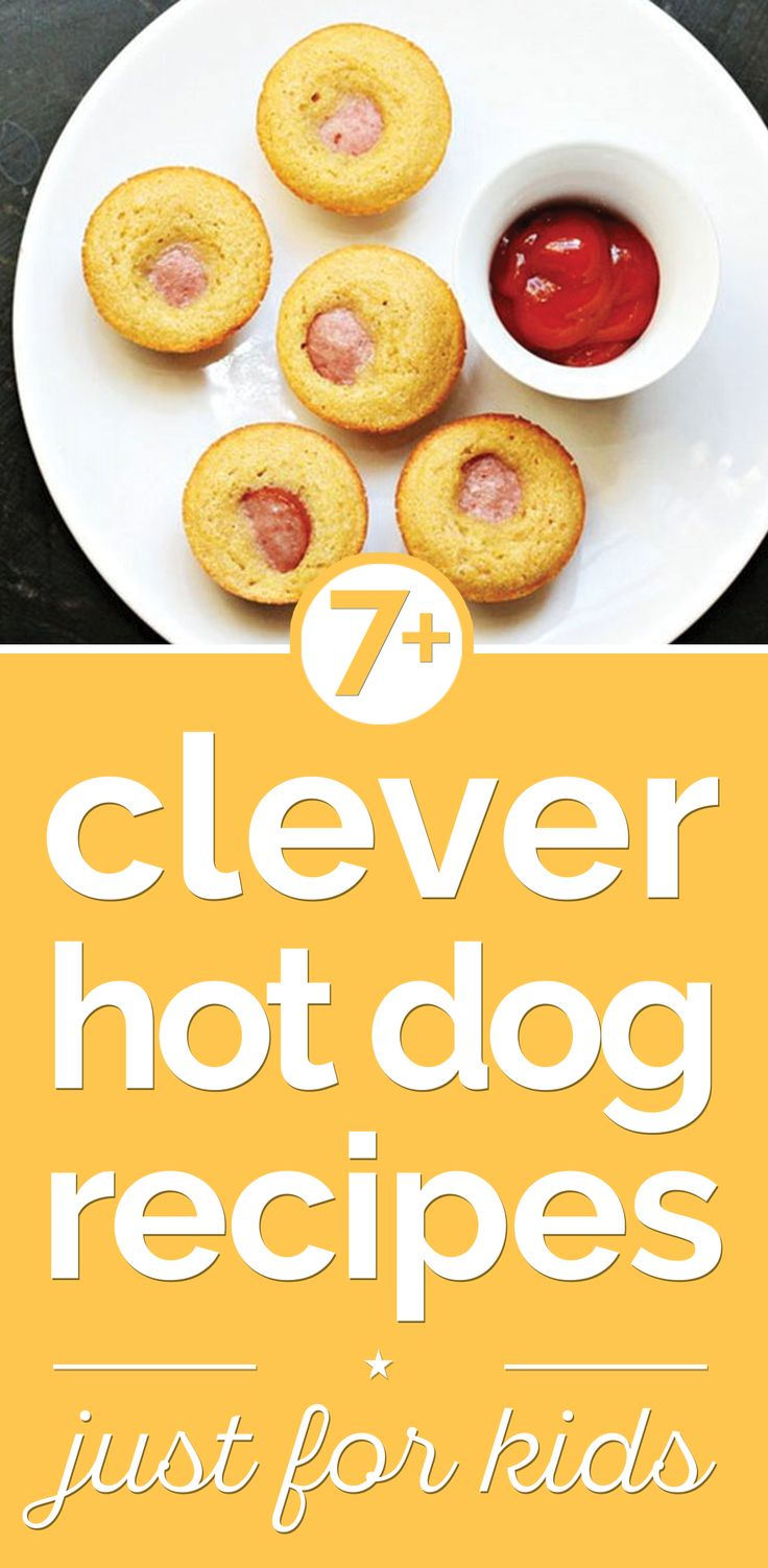 7+ Clever Hot Dog Recipes Just for Kids - thegoodstuff