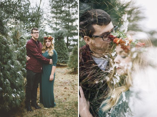 winter engagement photo - Google Search