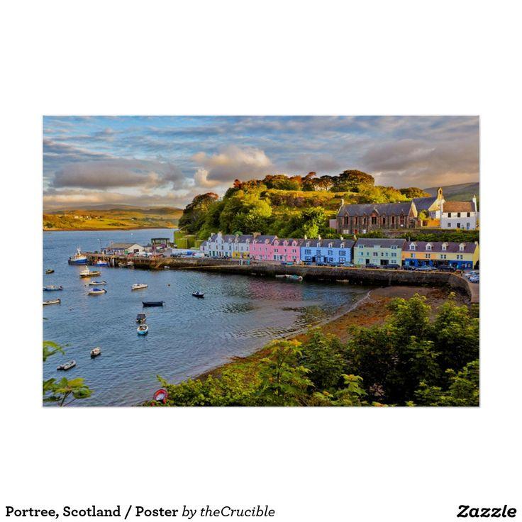 Portree, Scotland / Poster