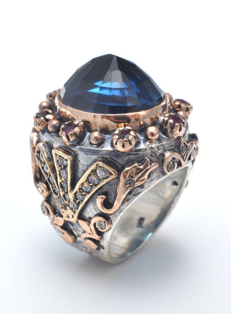 Inel argint Regal http://www.sultanabijoux.com/urundetay.php?urunID=16&grupID=4&inel-argint-regal