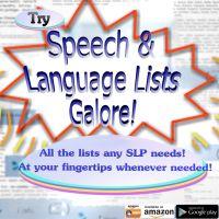 Free Language Stuff | Tons of Language Activities for Specific Language Needs