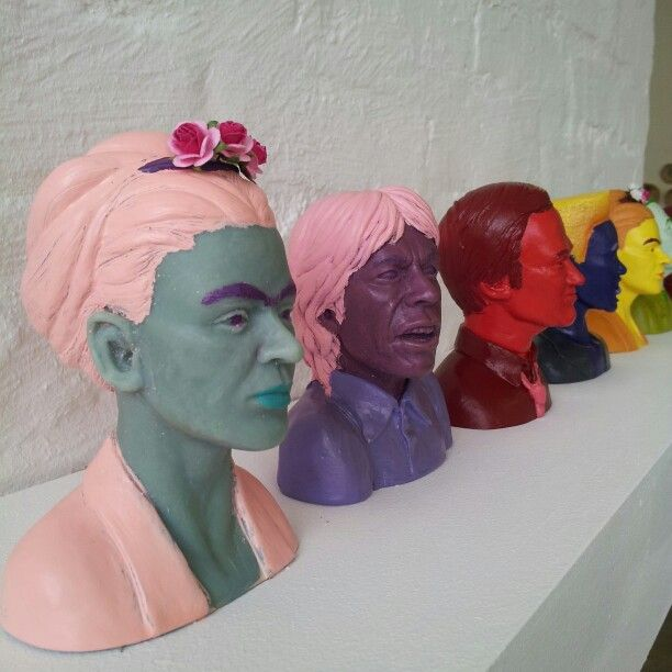 Pop Art Busts- Barry Barichievy