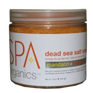 Spa Organics Mandarin + Mango Dead Sea Salt Soak 15 oz. [Pack of 3] by Spa Organics. $30.95. Naturally hydrating and ant-oxidant with Argan Oil* from Morocco and Botanical Extracts. Paraben Free. Certified Organic.. This naturally detoxifying sea salt soak infuses Argan Oil with Morocco and anti-oxidants to cleanse and prepare hands and feet for manicure or pedicure service. Skin is left purified and deeply moisturized. Also perfect for home use.