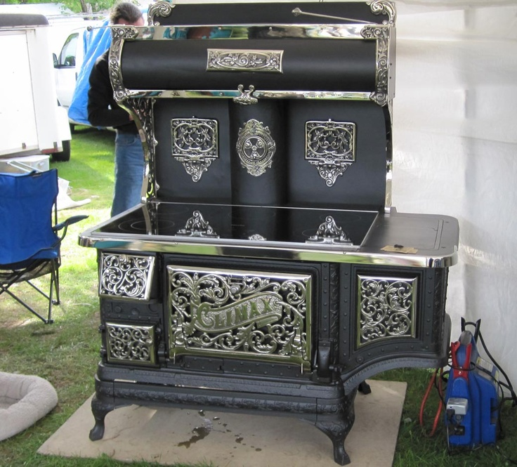 Electric Top Antique Stove.