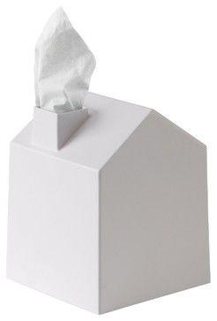 Umbra Casa Tissue Box Cover, White - modern - Accessories And Decor - Amazon