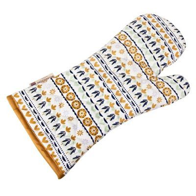 Denby cotton 'Monsoon Cordoba' single oven glove at debenhams.com