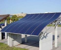 Solar roof for heating